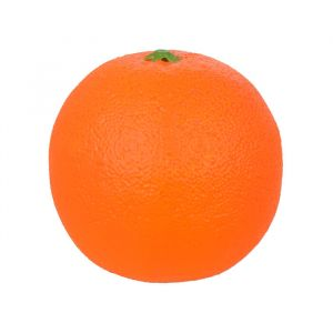 Fruta Artificial Laranja Natural com Peso 8cm